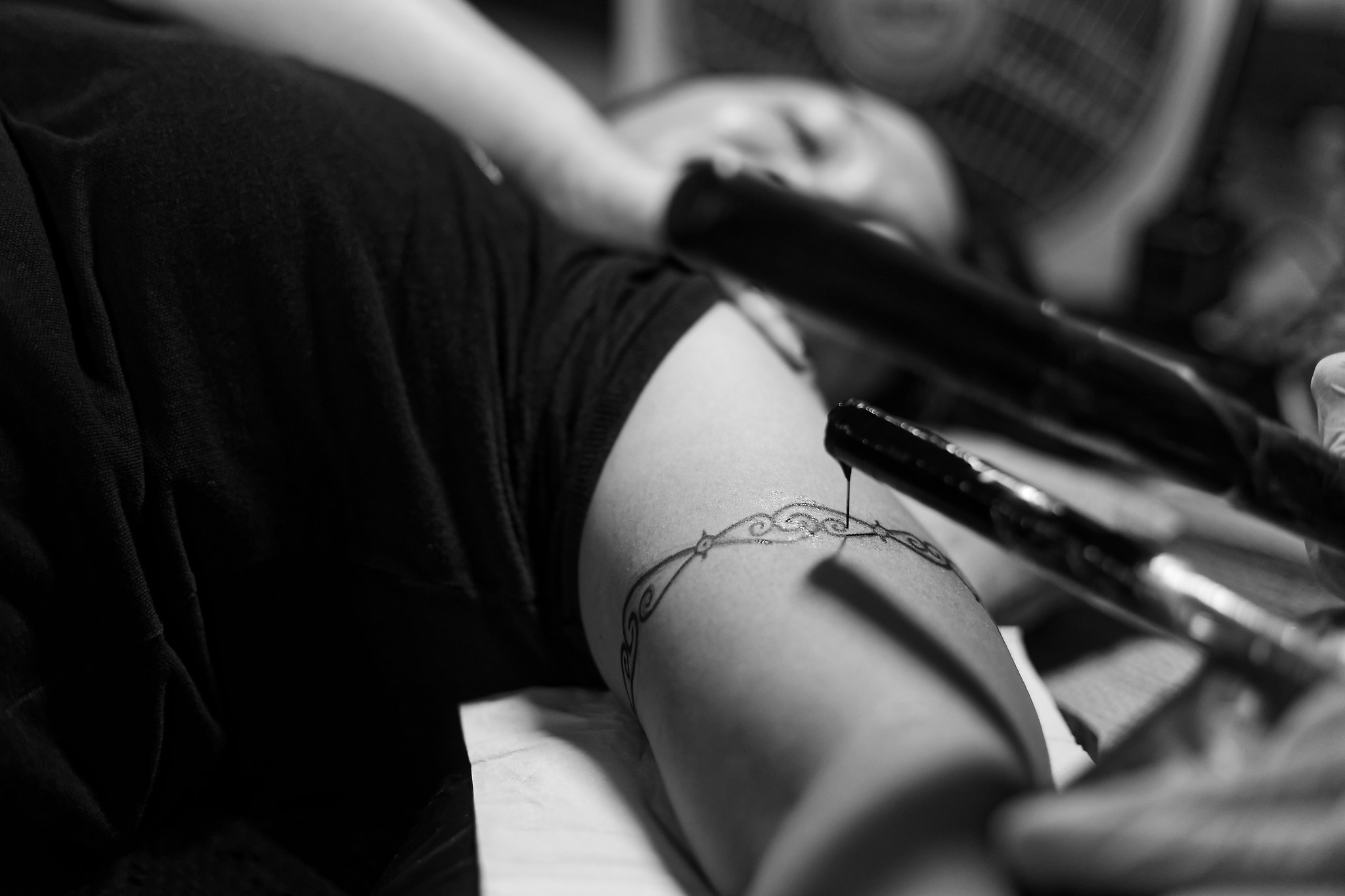 Tribal Ink: Writing stories on human skin